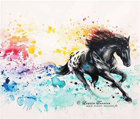 watercolor tattoo artists mexico appaloosa watercolor ideas tattoos