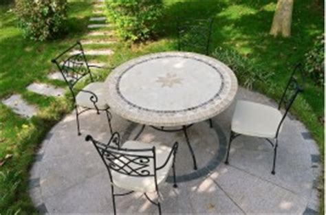 Table De Jardin Pliante 904 by Tables De Jardin En Mosaique De Marbre Jardin Living
