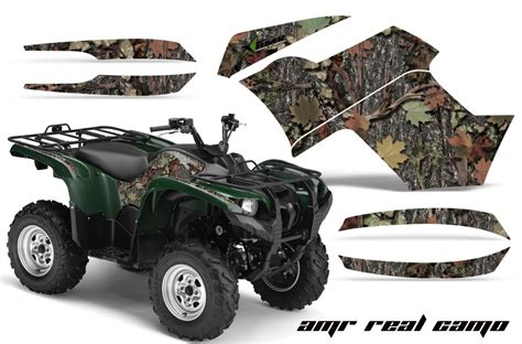 Decal Yamaha X Ride Camo premium quality amr racing graphics for the yamaha grizzly 500 700 atv toughest thickest