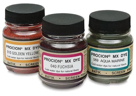 Tinta Batik Jacquard Procion Mx Fiber Reactive Cold Water Dye Blick