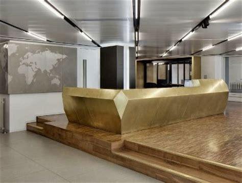 gold concierge desk inspiration possibly curved