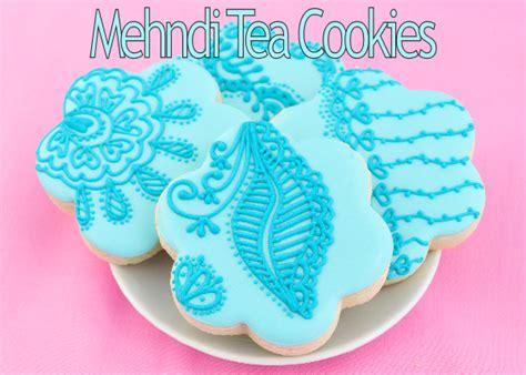 henna design biscuits haniela s mehndi inspired tea cookies