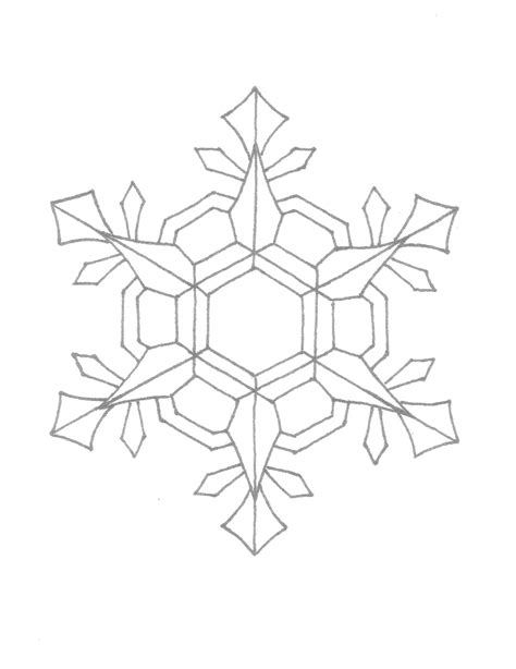 Snowflake Patterns Coloring Pages | creator s joy snowflake coloring page