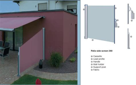 patio awnings with side screens patio awnings with side screens 28 images 1 8x3m retractable side awning shade