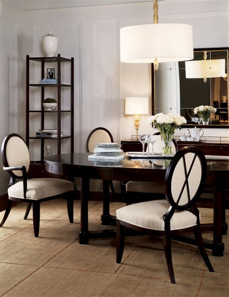 baker dining room furniture baker oval dining table