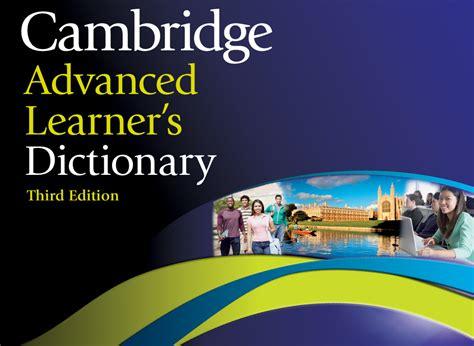 cambridge advanced learner s dictionary cambridge advanced learner s dictionary المرسال