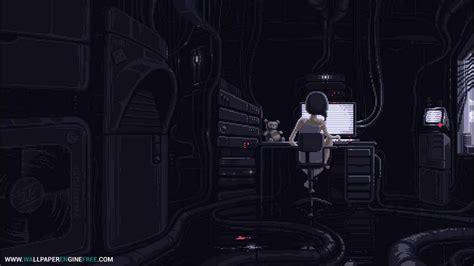 wallpaper engine cyberpunk serial experiments lain pixel art wallpaper engine free