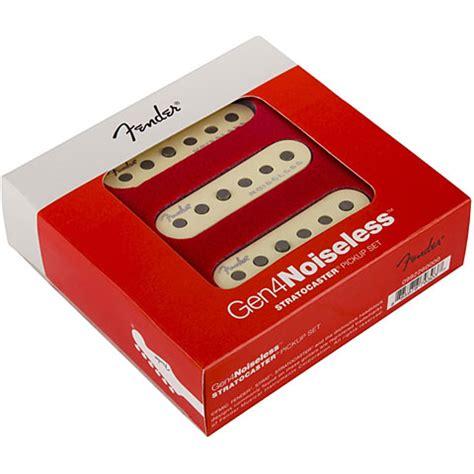 fender strat gen  noiseless set electric guitar pickup