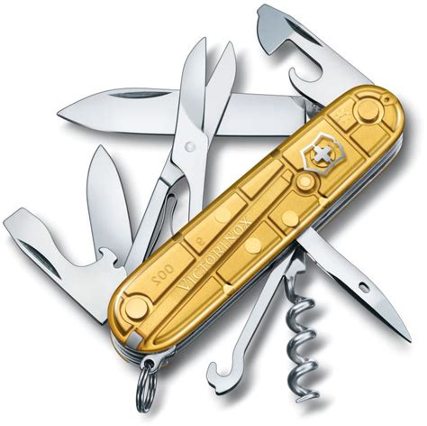 Box Swiss Army Limited victorinox climber gold swiss army knife limited special