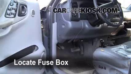 1998 2003 dodge durango interior fuse check 1999 dodge