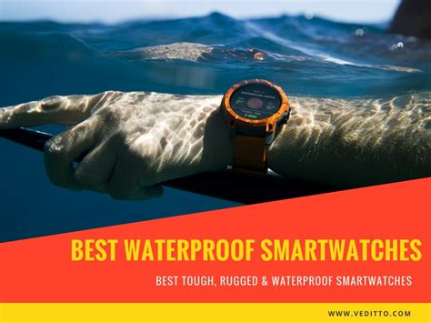 10 Best Waterproof Smartwatches you can buy [2018 Edition]
