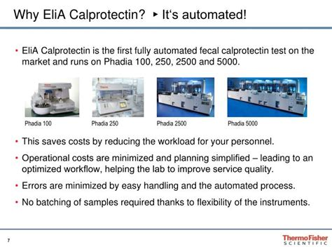 Stool Test Calprotectin by Ppt Elia Calprotectin The Fully Automated