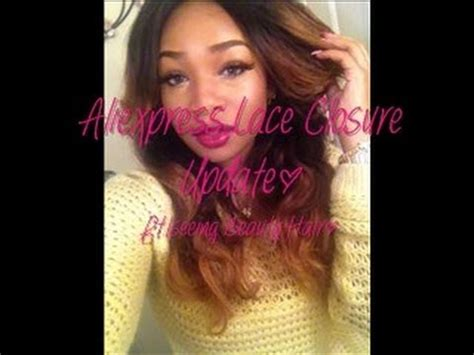 aliexpress iseeing swiss lace closure 1 month