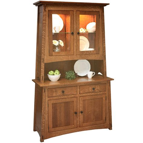buffet tables amp optional hutch amish sideboard servers