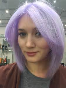 lavender color hair i dyed my hair pastel ombre purple see the before and after