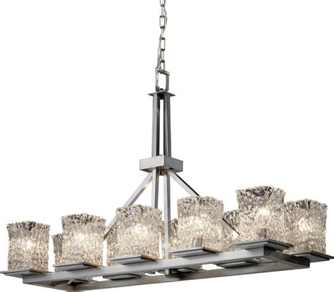 Justice Design Group Gla 8650 Montana Transitional Transitional Chandelier