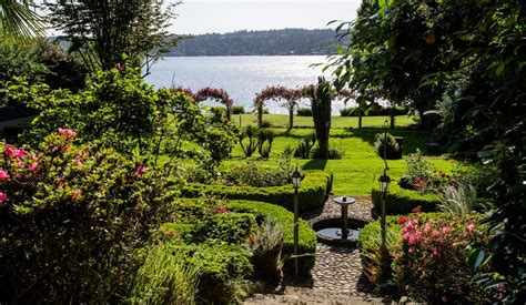 Gardens In Seattle by A Garden On The Shores Of Lake Washington Is Restored To Its Former The Seattle Times