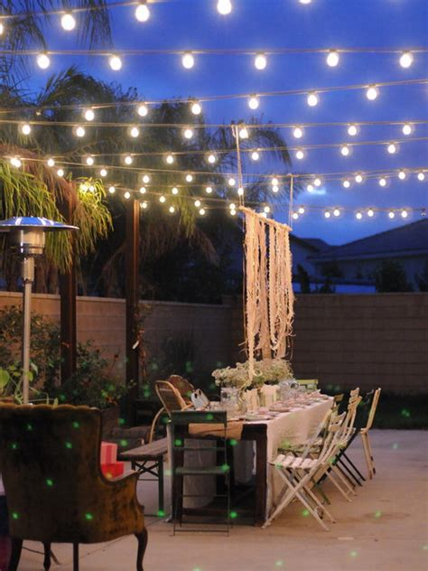 outdoor backyard lighting ideas marceladick