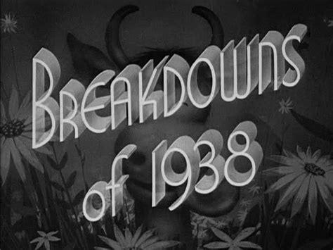 Bros H 46 A Lost Warner Bros Breakdowns