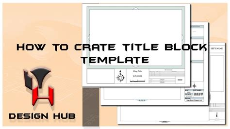 block design vs event related autocad tutorail creating template title block drawing
