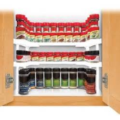 Kitchen Cabinet Spice Organizer by Buy As Seen On Tv Spicy Shelf Spice Rack Stackable Cabinet