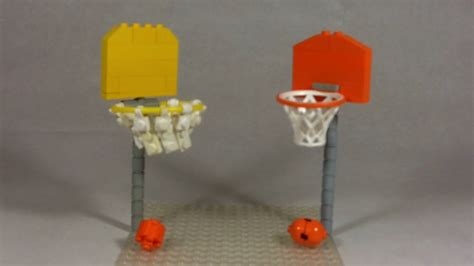 How To Make A Basketball Net Out Of Paper - how to build lego basketball hoop