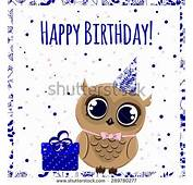 Happy Birthday Owls Cute Pictures To Pin On Pinterest