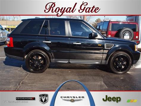 land rover 2007 black 2007 java black pearl land rover range rover sport hse