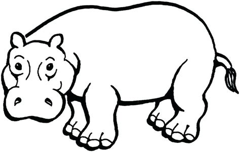 Coloring Page Hippo by Hippo Coloring Pages S Potamus Baby Pygmy Coloring Page