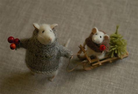 Images Of Christmas Mice | stuffed animals by natasha fadeeva christmas mice