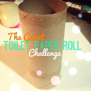 Toilet Paper Roll Challenge by My Craft Channel Mar 15th The Great Toilet Paper Roll