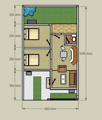 layout renovasi rumah design renovasi rumah type 36 serdadu langit