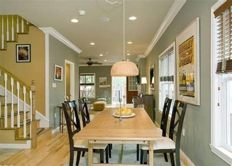 open floor plan kitchen living room paint colors home