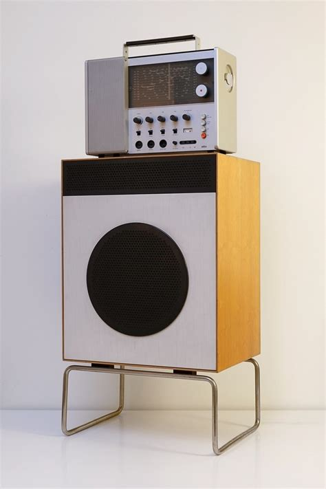 design speakers braun l2 loudspeaker 1958 design related interests