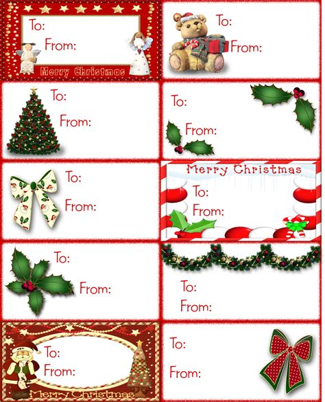 Printable Christmas Labels For Presents | graxa s page christmas printable gift tags