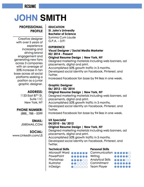 J C Resumes by 1 Or 2 Page Resume 6 Seconds Of Magic Optimal Resume