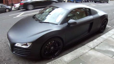 audi r8 wallpaper matte audi r8 matte black wallpaper 1280x720 3257
