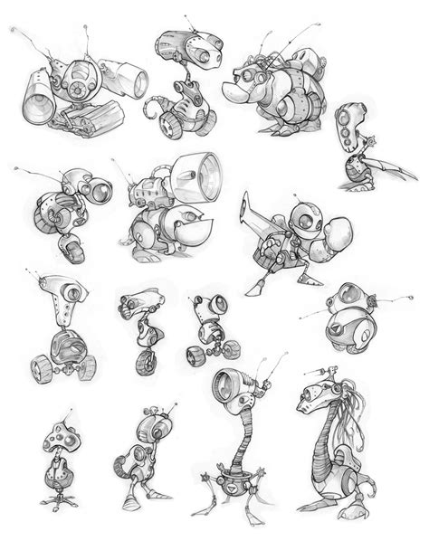 ratchet amp clank 10 years of concept art insomniac games