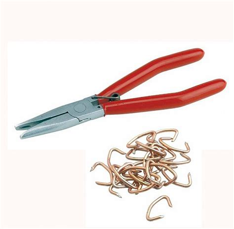 upholstery hog rings hog ring pliers for car automotive seats upholstery ebay