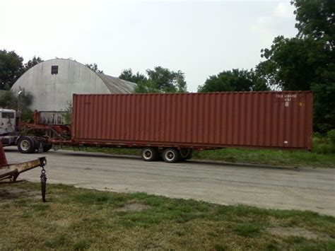 storage container movers moving a shipping container pic yesterday s tractors