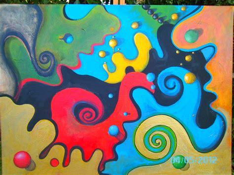 imagenes de obras abstractas mis pinturas abstractas propias proceso y an 225 lisis