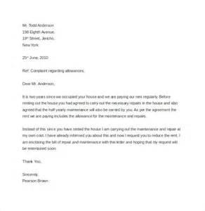 Complaint Letter Veterinarian Sle Complaint Letter To Landlord About Tenant 10 Noise Complaint Letter Templates Free