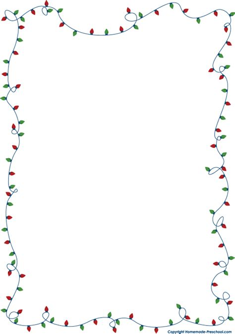 christmas clipart free borders clipartsgram com