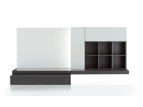 modular möbel beige und hochglanz schwarz