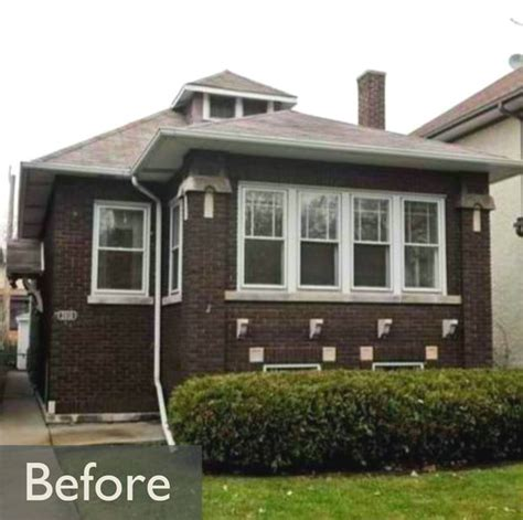 chicago bungalow association chicago bungalow house house check out before after pix of award winning albany park