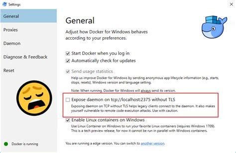 docker tls tutorial wsl interoperability with docker virtualization blog