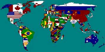 flag map multi national flag maps