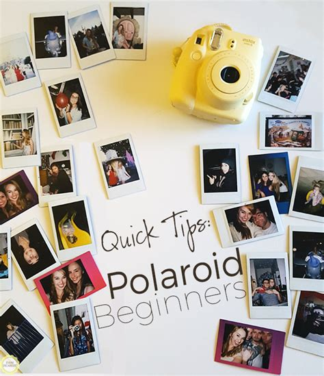 Fujifilm Instax Mini 70 Free Wallpaper tips for polaroid beginners dearest