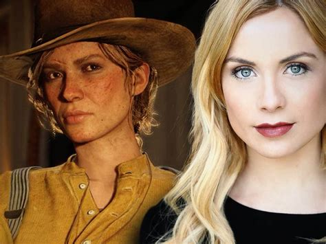 voice actress dead red dead redemption ii voice actors look like their