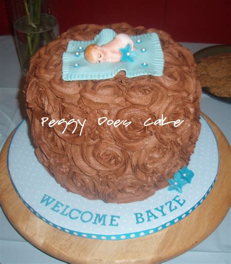 Baby Shower Chocolate by S Chocolate Roses Baby Shower Cake